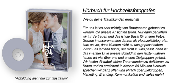 Hörbuch für Hochzeitsfotografen