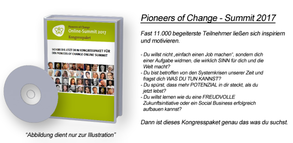 Pioneers of Change - Summit 2017