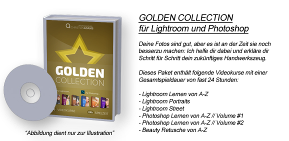 GOLDEN COLLECTION für Lightroom und Photoshop