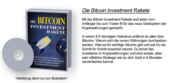Die Bitcoin Investment Rakete