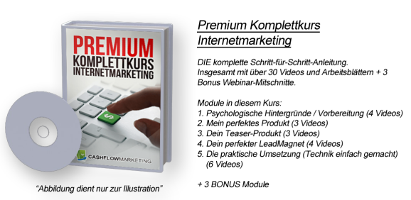 Premium Komplettkurs Internetmarketing